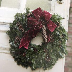 ◆◇クリスマスリースを作ろう◇◆フラワーサークルBerry