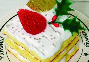 Xmasミニケーキ食品サンプル作り